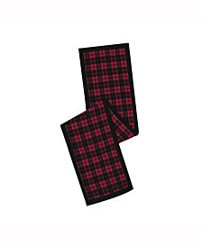 Vickerman Decorative Table Runner Traditional Holiday Plaid