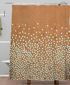 Deny Designs Iveta Abolina Mint Splash Shower Curtain