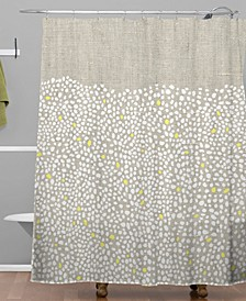 Iveta Abolina Pebbles Shower Curtain