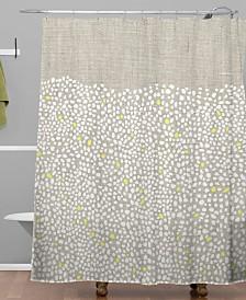 Deny Designs Iveta Abolina Pebbles Shower Curtain