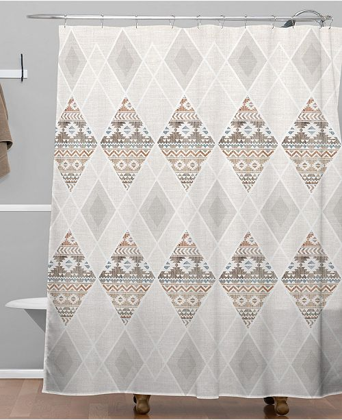 Deny Designs Iveta Abolina Sand Trails Shower Curtain