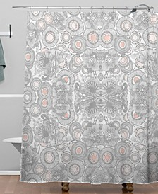Iveta Abolina Snow Cloud Shower Curtain