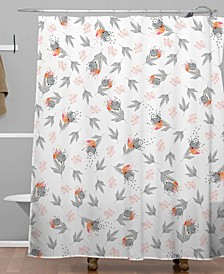 Iveta Abolina Butterscotch Shower Curtain