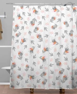 Deny Designs Iveta Abolina Butterscotch Shower Curtain Bedding