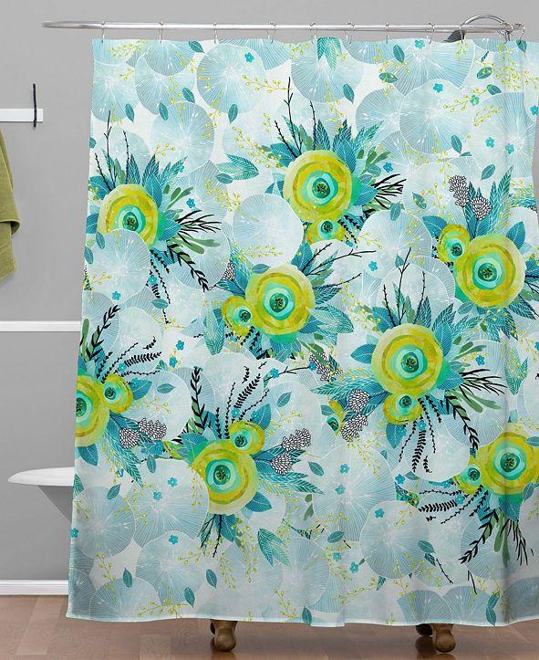 Deny Designs Iveta Abolina Lagoon Breeze Shower Curtain