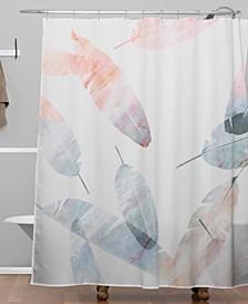 Iveta Abolina Coral Shoreline Shower Curtain