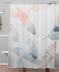 Deny Designs Iveta Abolina Coral Shoreline Shower Curtain