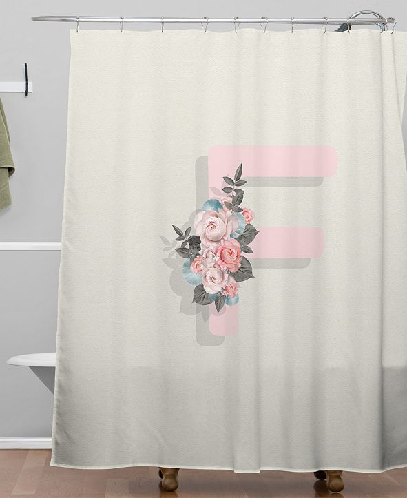 Deny Designs Iveta Abolina Pivoine F Shower Curtain