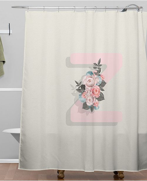 Deny Designs Iveta Abolina Pivoine Z Shower Curtain