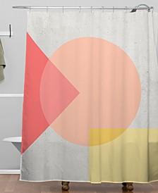 Iveta Abolina Peach Cobbler II Shower Curtain