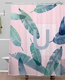 Deny Designs Iveta Abolina Peaches N Cream U Shower Curtain