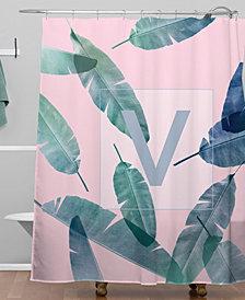 Deny Designs Iveta Abolina Peaches N Cream V Shower Curtain