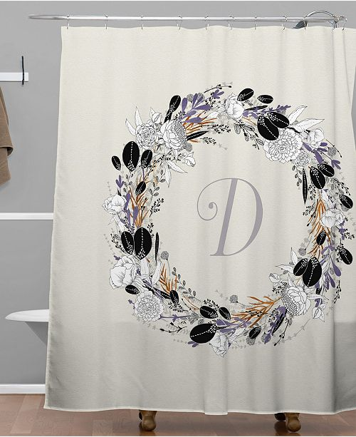 Deny Designs Iveta Abolina Silver Dove D Shower Curtain