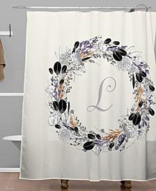 Iveta Abolina Silver Dove L Shower Curtain