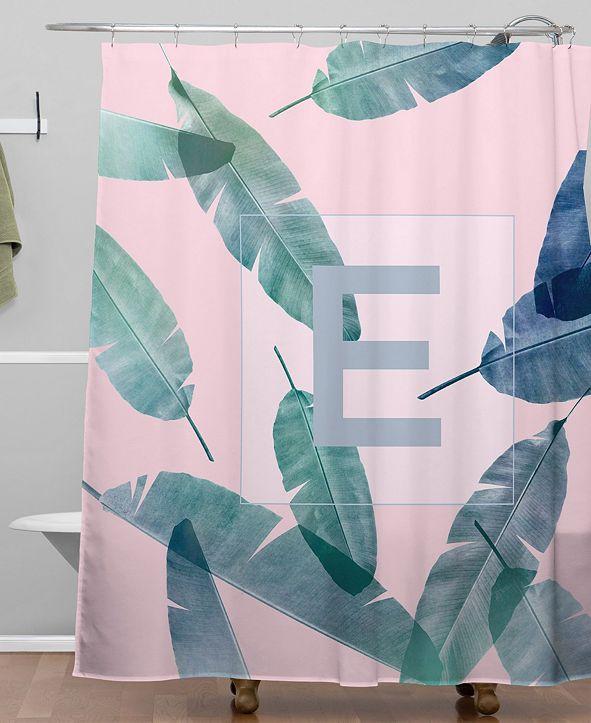 Deny Designs Iveta Abolina Peaches N Cream E Shower Curtain
