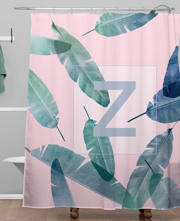 Deny Designs Iveta Abolina Peaches N Cream Z Shower Curtain