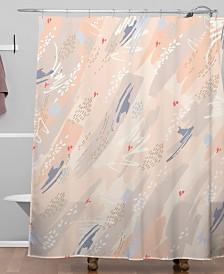 Deny Designs Iveta Abolina Happy Friday Shower Curtain