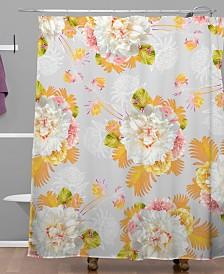Deny Designs Iveta Abolina Peony Love Shower Curtain