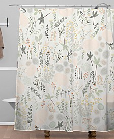 Iveta Abolina Floral Goodness Shower Curtain