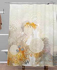 Iveta Abolina Moosebird Shower Curtain