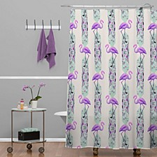 Iveta Abolina Colorful Crystals Shower Curtain