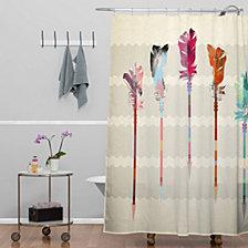 Deny Designs Iveta Abolina Frenchie Shower Curtain