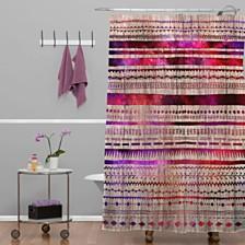 Deny Designs Iveta Abolina Stripe Happy Shower Curtain