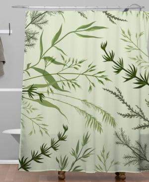 Deny Designs Iveta Abolina Margaux Iv Shower Curtain Bedding