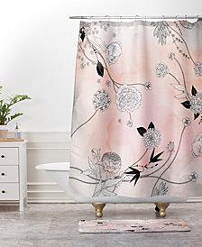 Deny Designs Iveta Abolina Silver Dove Christmas O Bath Mat