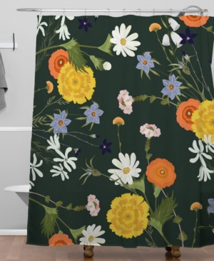 Deny Designs Iveta Abolina Lyonette Shower Curtain Bedding