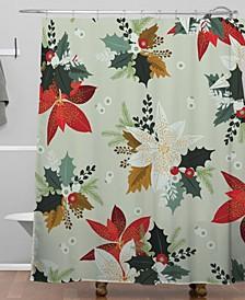 Iveta Abolina Hello December Shower Curtain