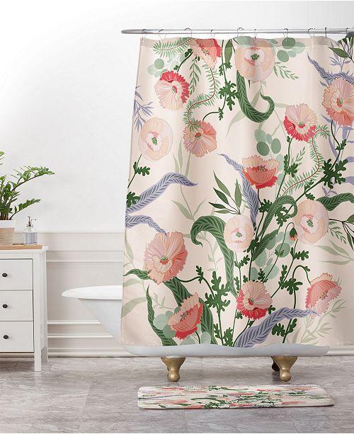 Deny Designs Iveta Abolina Fleurette Midday Bath Mat