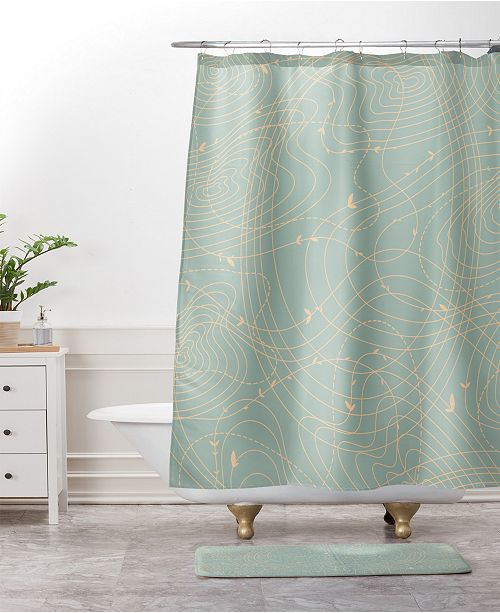 Deny Designs Iveta Abolina Palm Desert Sunrise Bath Mat