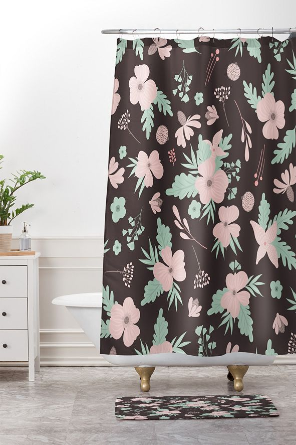 Deny Designs Iveta Abolina Poppy Meadow III Bath Mat