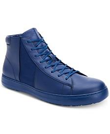 Calvin Klein Men's Salvador Leather High-Top Sneakers