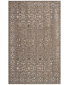 kathy ireland Home KI34 Silver Screen KI343 4' x 6' Area Rug