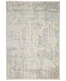 """kathy ireland Home KI34 Silver Screen KI343 6'7"""" x 9'6"""" Area Rug"""