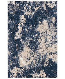 "kathy ireland Home KI35 Heritage KI355 Beige/Blue 3'11"" x 5'11"" Area Rug"