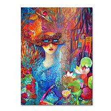 Oxana Ziaka 'Venice 1' Canvas Art Collection