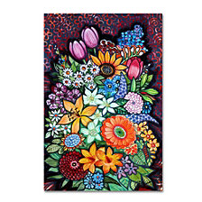 Oxana Ziaka 'Autumn Flowers' Canvas Art Collection
