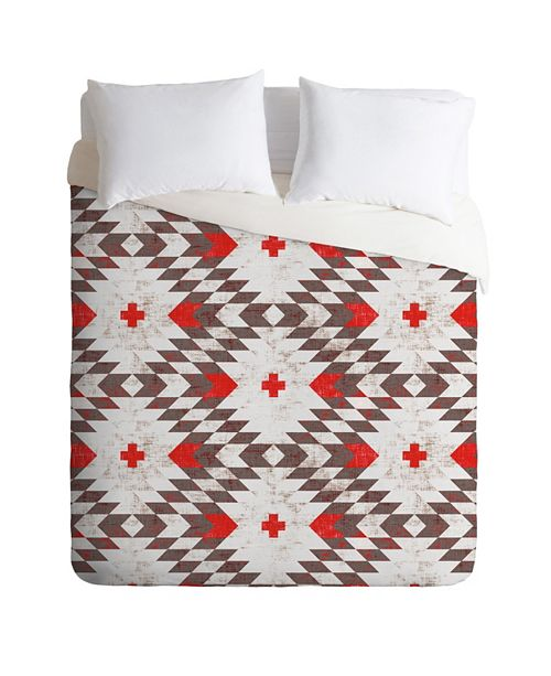 Deny Designs Holli Zollinger Native Rustic Queen Duvet Set
