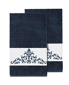 Scarlet 2-Pc. Embellished Bath Towel Set