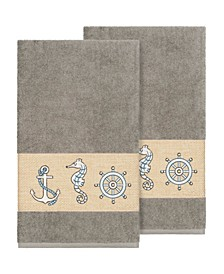 Easton 2-Pc. Embellished Bath Towel Set