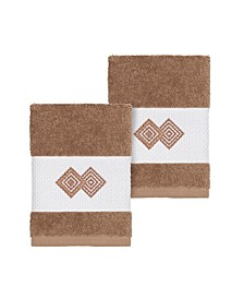 Noah 2-Pc. Embellished Washcloth Set