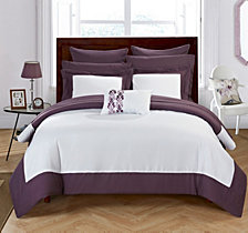 Chic Home Peninsula 10-Pc Queen Comforter Set
