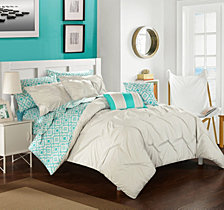 Chic Home Sabrina 10-Pc Queen Comforter Set