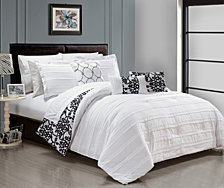 Chic Home Lea 10-Pc King Comforter Set