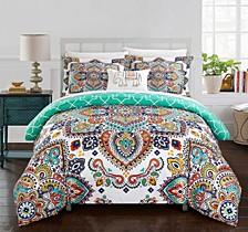 Raypur 8-Pc Queen Comforter Set