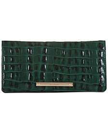 Brahmin Ady La Scala Embossed Leather Wallet