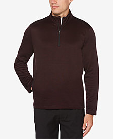 PGA TOUR Men's Water-Repellant Quarter-Zip Sweater